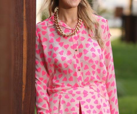 Look do dia: Pink fever da Linda de Morrer