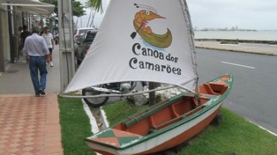 "Dica: Delivery do restaurante ""Canoa dos Camarões"""
