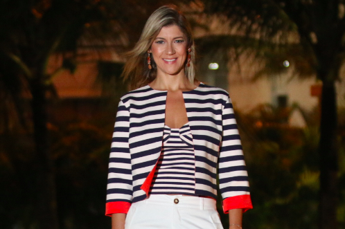 Look do dia: Navy style