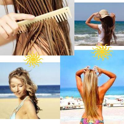Dica: Como cuidar dos cabelos no verão !!!