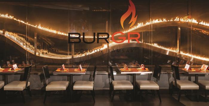 Dica de Hamburguer em Las Vegas: Gordon Ramsay BurGR