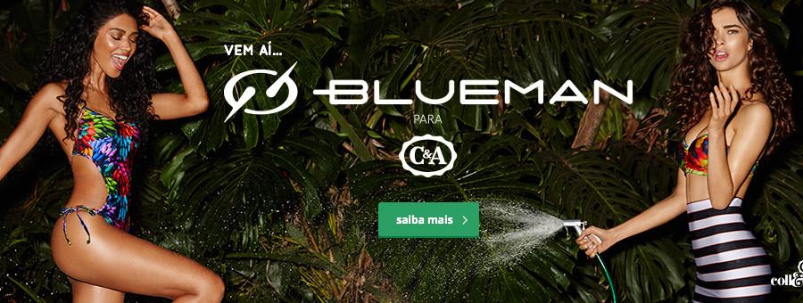 Coleção Blue Man para C&A