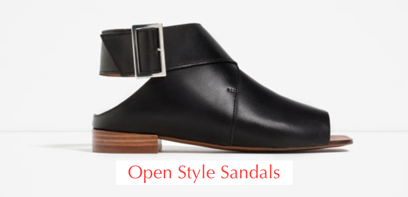 Trendy: Boot Style Sandals