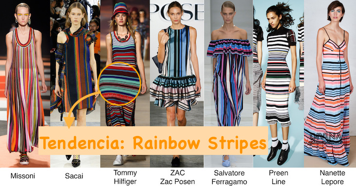 Trendy: Rainbow Stripes !