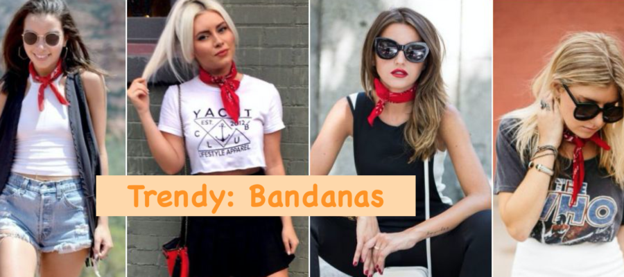 Trendy: Bandanas