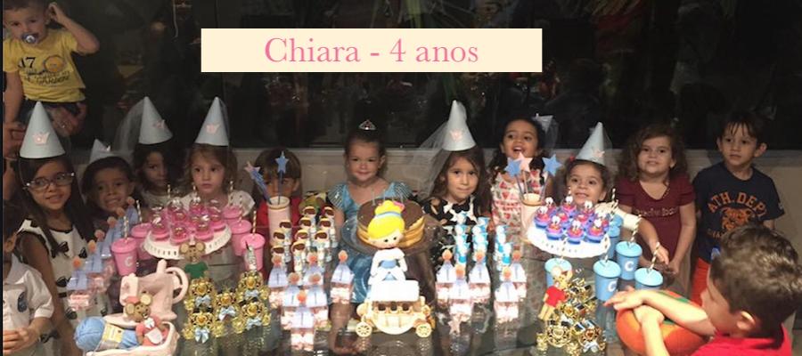 Aniversario Chiara – 4 anos