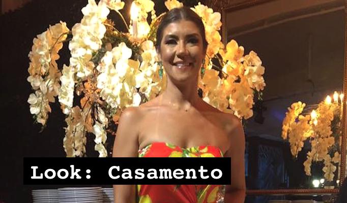 Look: Casamento !