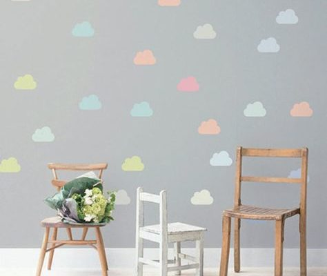 Decor: Parede de nuvem (DIY)
