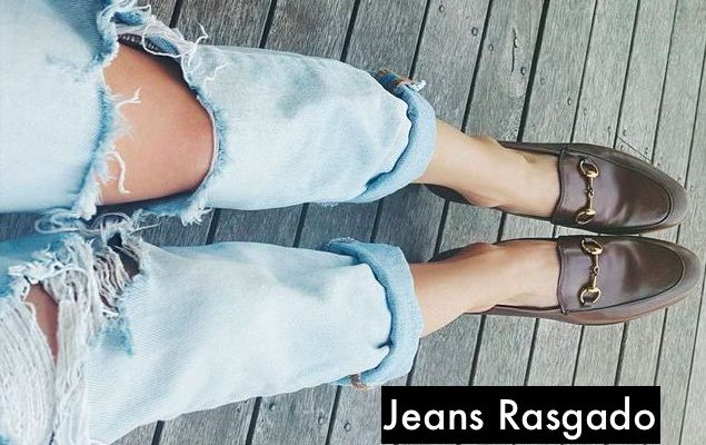 Tendencia: Jeans rasgado!