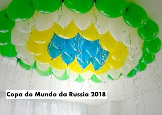 Decor e comidinhas para a Copa do Mundo 2018