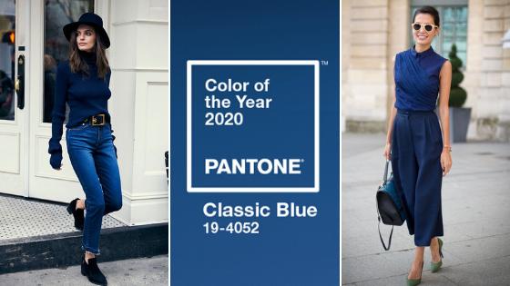 Pantone 2020 – Classic Blue