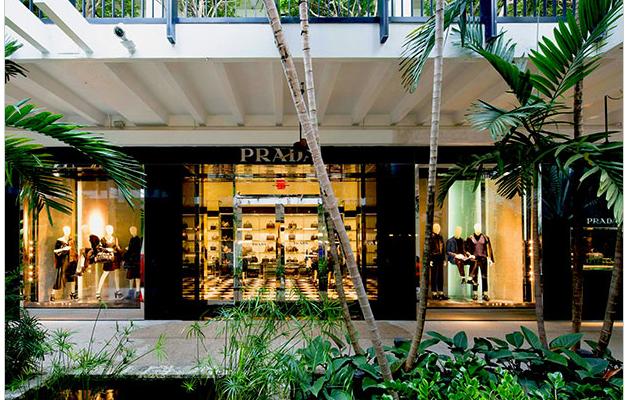 A Reforma da Prada do Shopping Bal Harbour – Miami