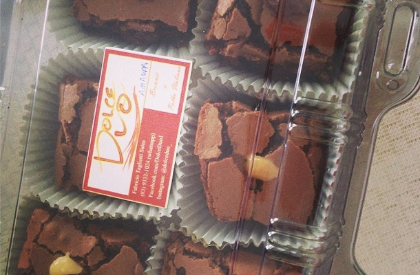 Dica de gordice: Dolce Duo Brownies e palhas italianas