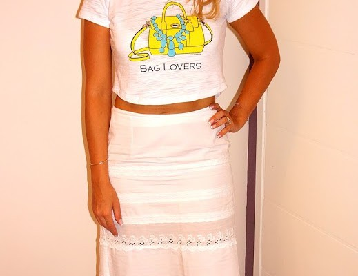 Look do dia: Cropped Tee