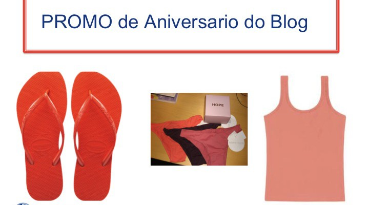 RESULTADO DA PROMO DE ANIVER DO BLOG