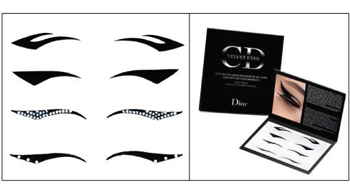 Maquiagem adesiva Dior