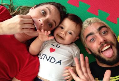 Momento papparazzi: Luana Piovani em familia