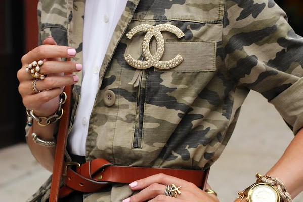 Tendencia: Estampa Militar