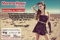 Coquetel Verittá Morena Rosa