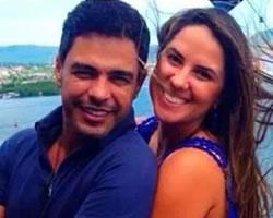 Momento papparazzi: Zezé di Camargo assume namoro com jornalista