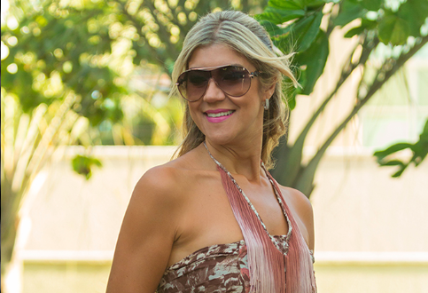 Look do dia: Vestido com franjas