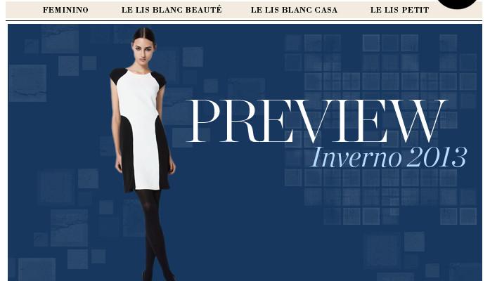 Le Lis Blanc Preview de Inverno 2013