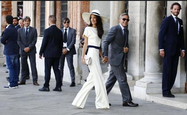 Momento papparazzi: O casório do ator George Clooney