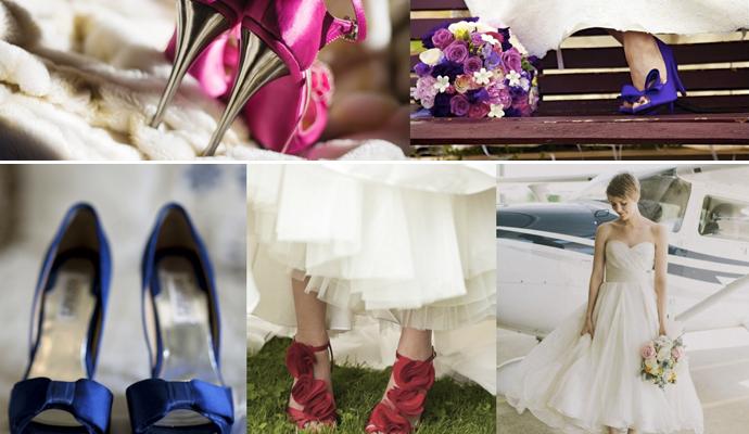 Sapatos – diferentes – para noivas !!!