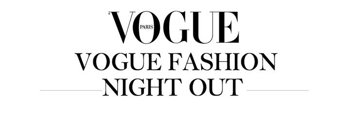 Fashion Night Out 2015