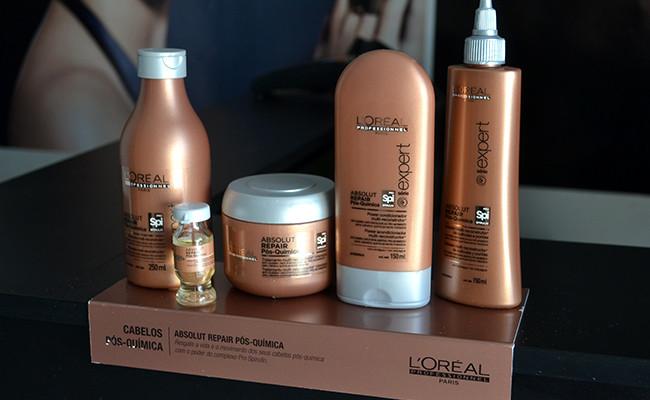 Cuidados com cabelo: Pós Quimica da L'Oreal !!!