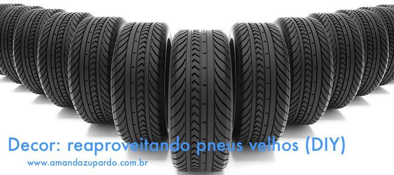 Decor: Transforme pneus velhos em pufes, mesinhas e ate casa para o pet !