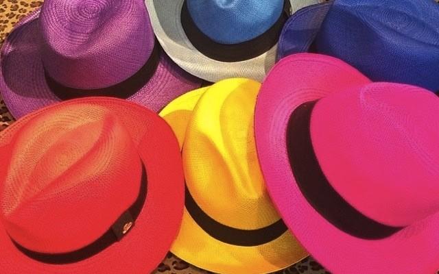 Trendy: Chapeu panamá colorido