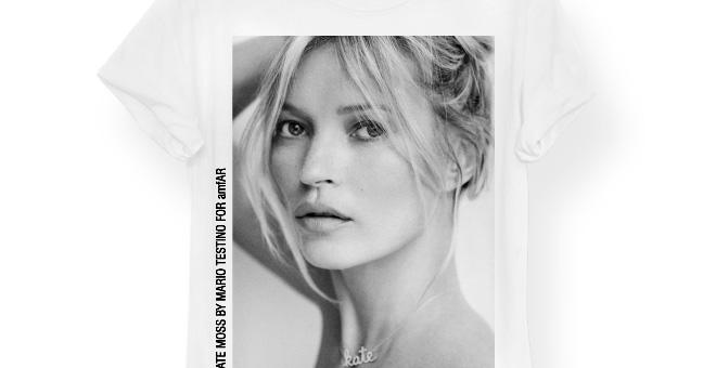 Schutz + Kate Moss para amfAR !