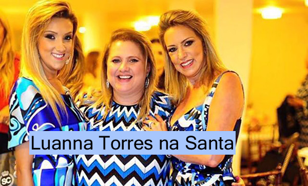 Luanna Torres na Santa Contemporanea !