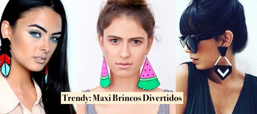 Trendy: Maxi Brincos Divertidos