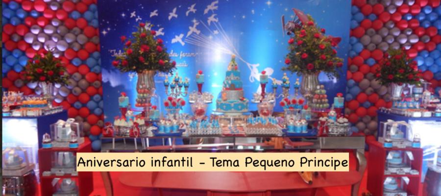 Aniversario infantil – Pequeno Príncipe !