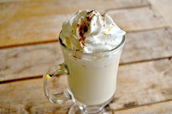 Receita: Chocolate quente branco !