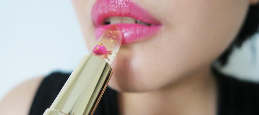 Jelly Flower Lipstick – o batom que muda de cor