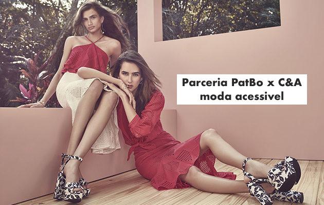 Nova parceria entre PatBo x C&A – moda acessível nas fast fashion