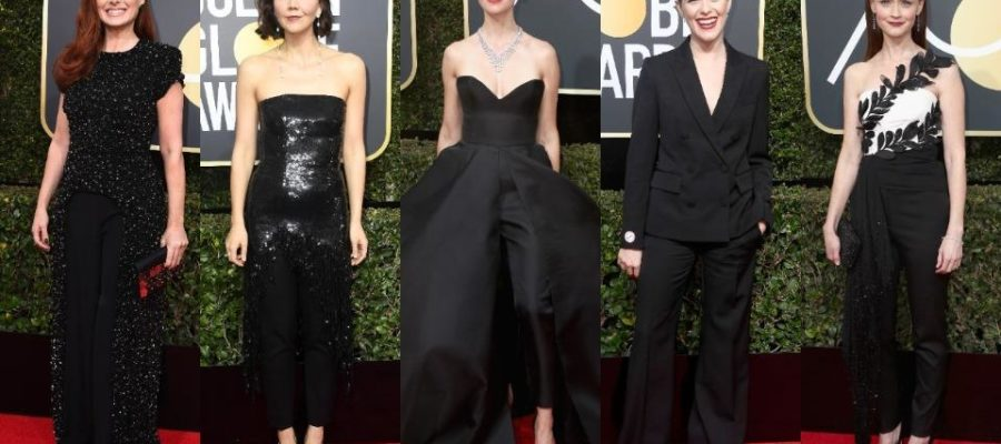 Os looks (todos pretos) do Golden Globe 2018 !