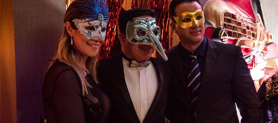 Baile de Mascaras do Emporio Gourmet !