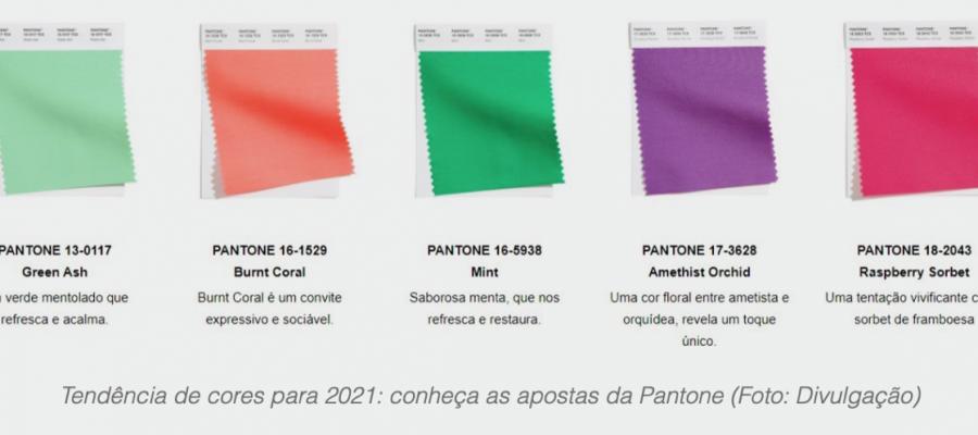 As cores da Primavera Verão 2021