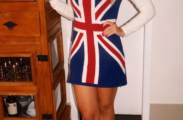 Look do Dia: Flag Dress