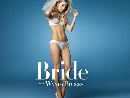 Wanda Borges para Hope Lingerie – linha Bride !