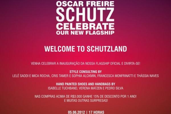 Reinauguração Flagship Schutz