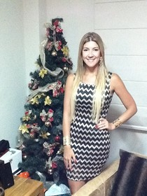 Minha árvore e look de Natal