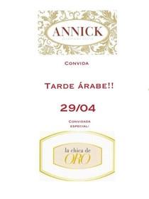 Tarde árabe na Annick