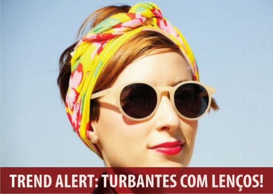 Na onda do turbante !